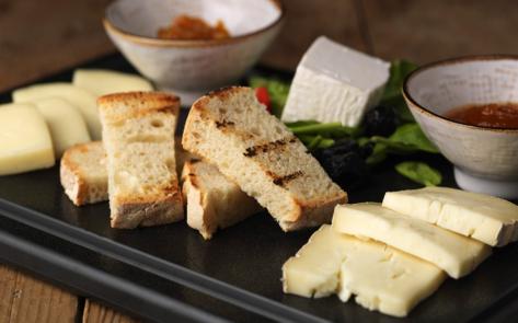 Degustaçao de queijos no Obika