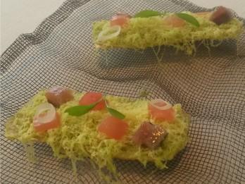 Guacamole com arenque