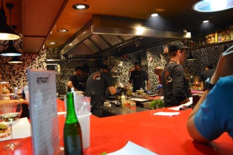 A cozinha do StreetXO