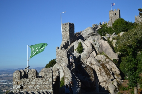 Castelo dos Mouros, em Sintra