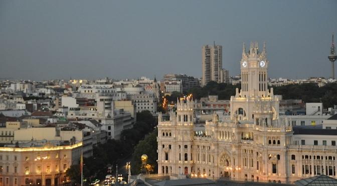 Madrid com chuva: o que fazer??