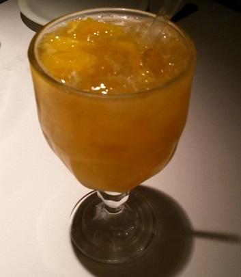 Caipisake de tangerina