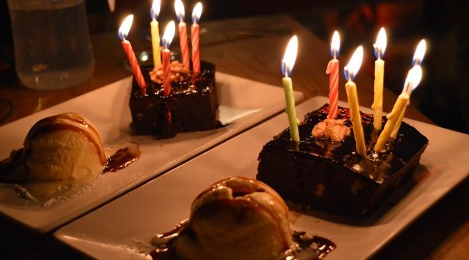 Comemorando aniversário em Mr. Frank, um dos restaurantes mais bonitos de Madrid