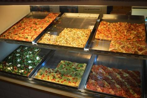 Pizzas por porções