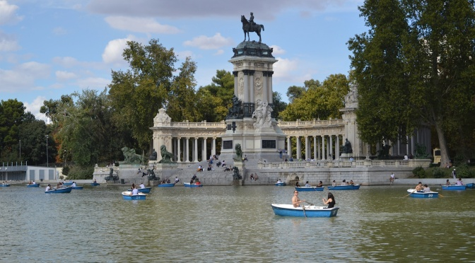Segundo dia em Madrid: Retiro, Museo del Prado, Gran Vía e Chueca