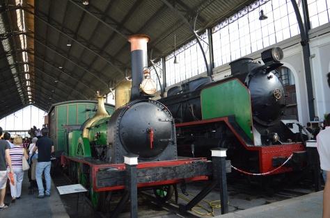 Trens antigos
