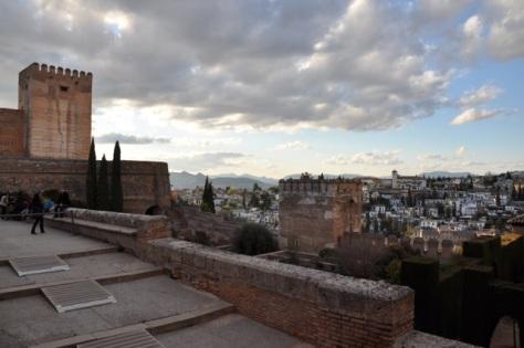 Alcazaba na Semana Santa