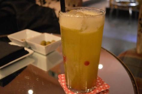 Cocktail com melao