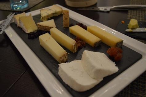 Tábua de queijos do dia