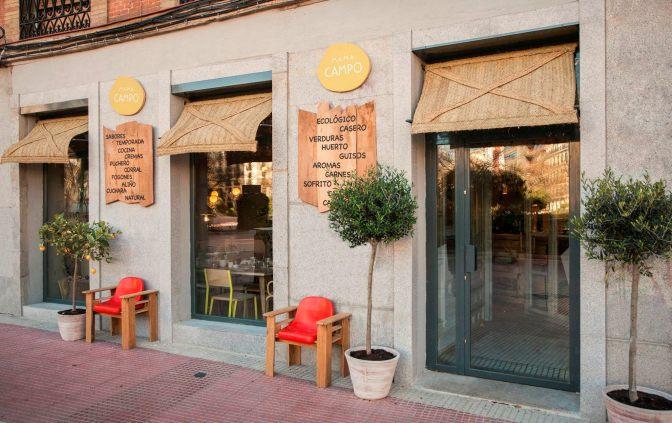 Mama Campo: excelente opção de gastronomia ecológica em Madrid