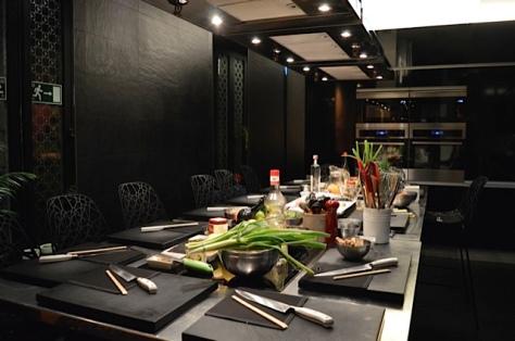 Cozinha do Kitchen Club Ballesta