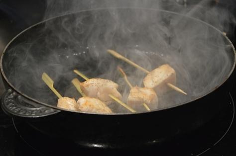 Preparação do pez mantequilla