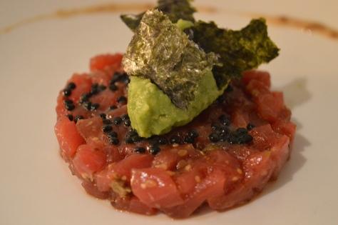Tartar de atún rojo