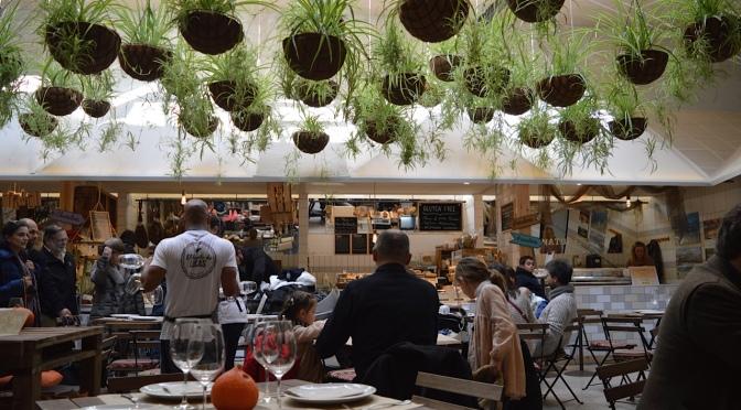 El Huerto de Lucas: mercado com cantina orgânica em pleno centro de Madrid