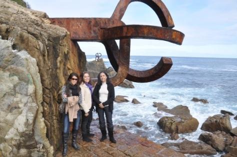 El peine de los vientos - San Sebastián