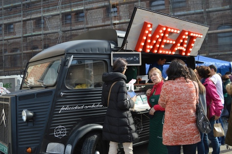 Food truck de burgers