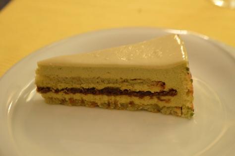 Torta delizia di pistacchio