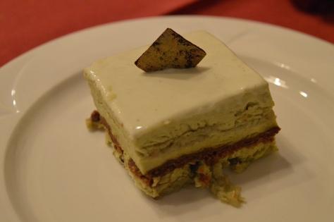 Torta delizia al pistacchio