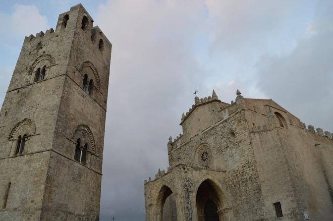 As Salinas de Trapani e as cem igrejas de Érice