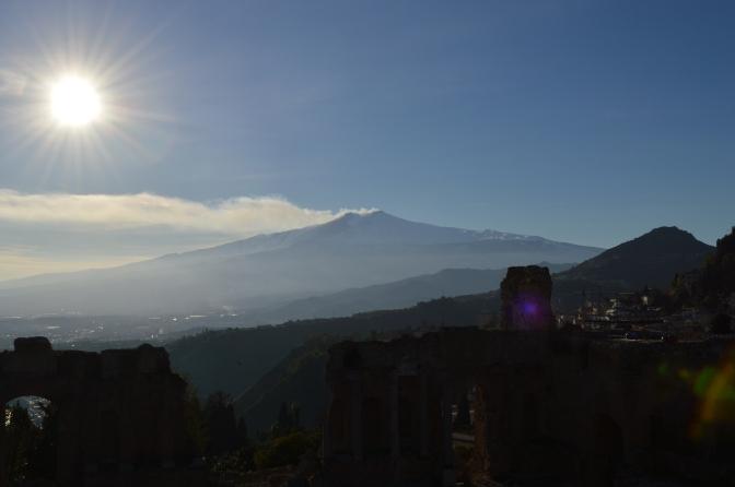 Viajando (e comendo!) pela Sicília: Taormina, Catania e o Etna