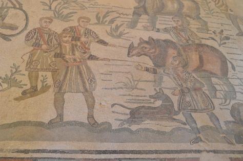 Mosaicos da Villa Romana del Casale