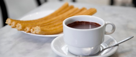 Churros con chocolate (foto site San Ginés)