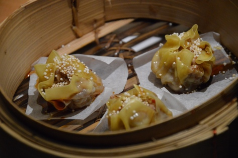 Dumpling de papada ibérica