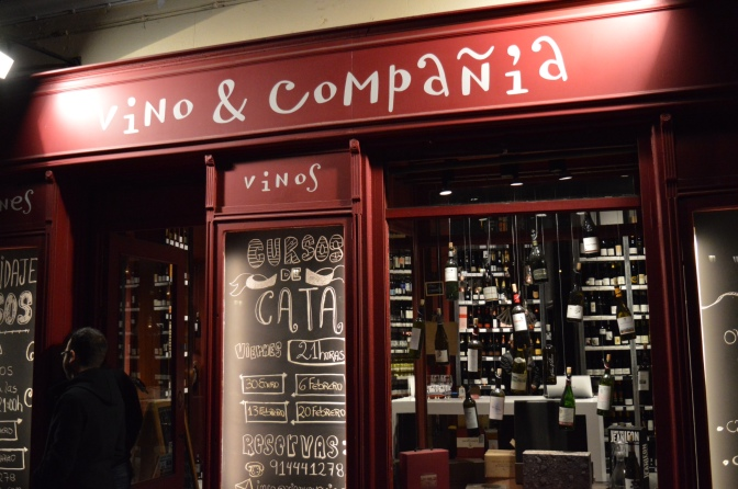 Curso de cata de vinhos para iniciantes em Vino & Compañía