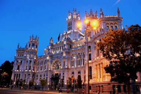 Palacio de Comunicaciones (Sede del Ayuntamiento de Madrid)