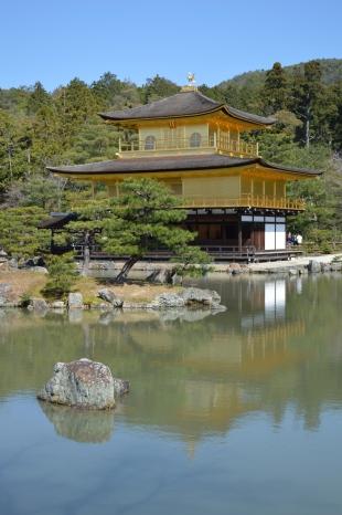 Kinkaku-ji, o Pavilhao Dourado de Kyoto