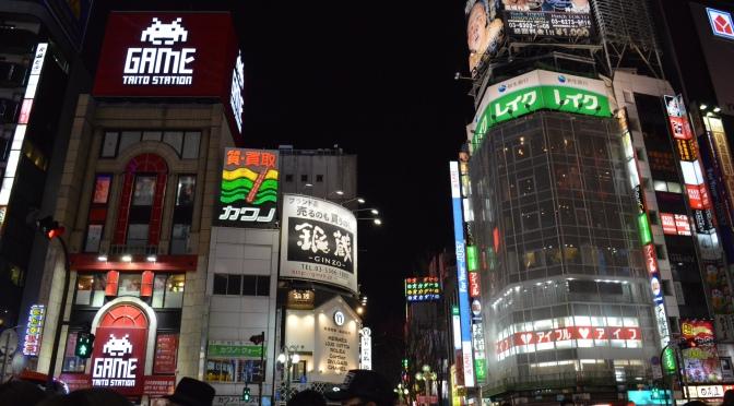 Viajando pelo Japão: Shinjuku – Tokyo