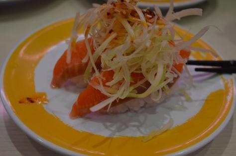 Sushi de salmao