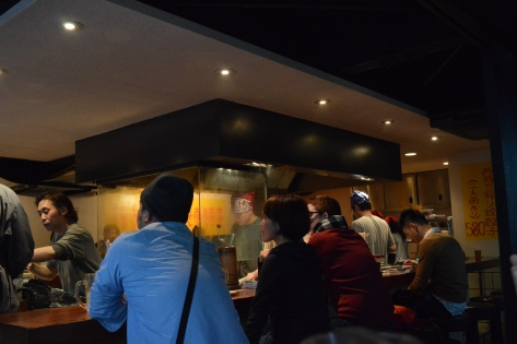 Restaurante de gyoza