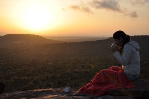 Nascer do sol em Sosian