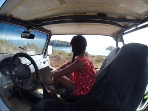 Buggy na Praia do Leao