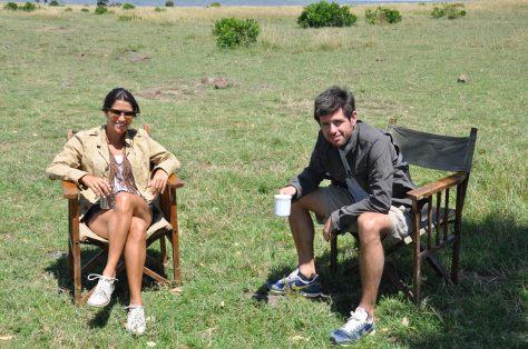 Café da manha em Massai Mara