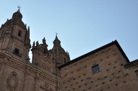 Casa de las Conchas e Iglesia de la Clerecía
