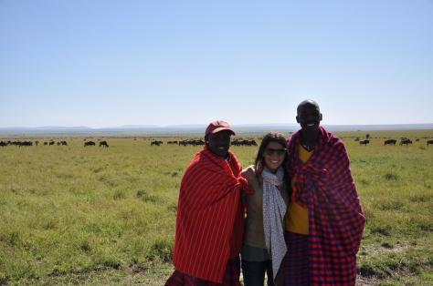 Guias em Massai Mara