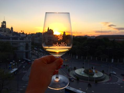 Pôr do sol Cibeles (foto Suzana Paquete, do blog That Good Trip)
