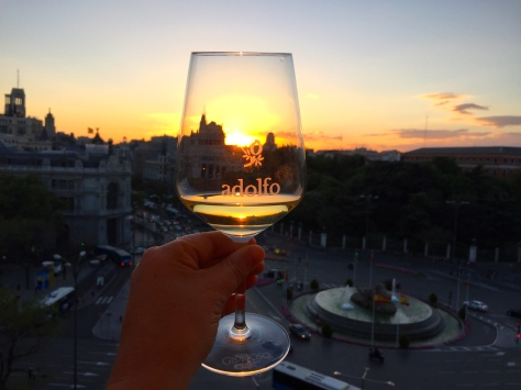 Pôr do sol Cibeles (foto Suzana Paquete)