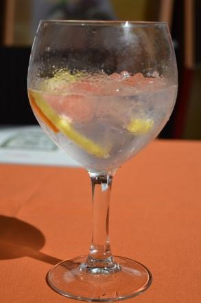 Gin tonic - Plaza de los Naranjos