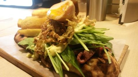 Naanwuich japonés de picanha a la laosiana