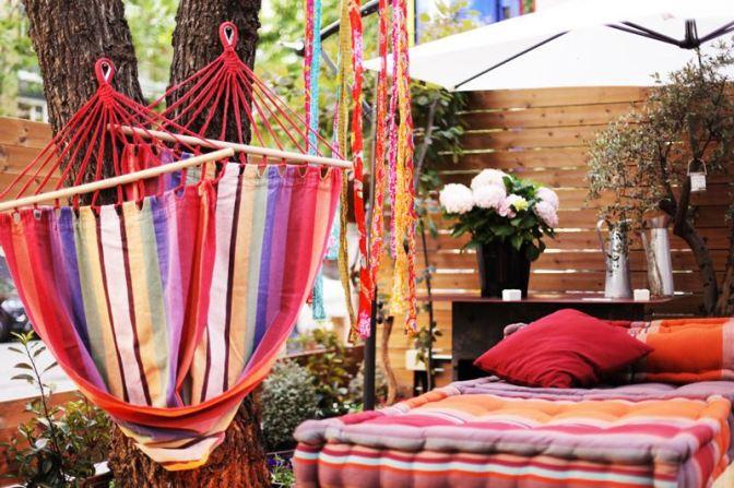 Doña Tecla: terraza ideal para copas e tapeo