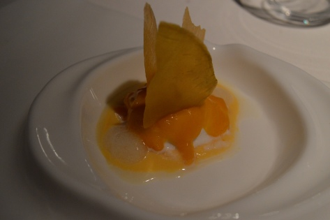 Sobremesa de abacaxi e maçã