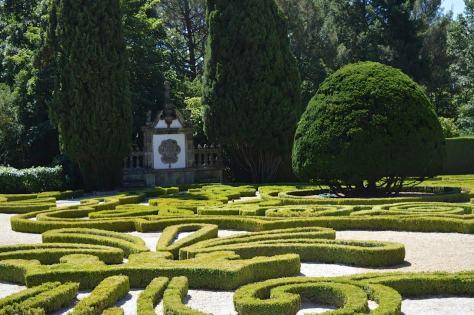 Jardim do Palacio de Mateus