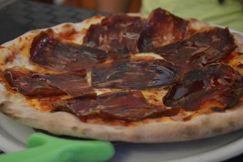 pizza de cecina