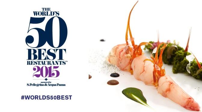 Lista dos 50 melhores restaurantes do mundo em 2015