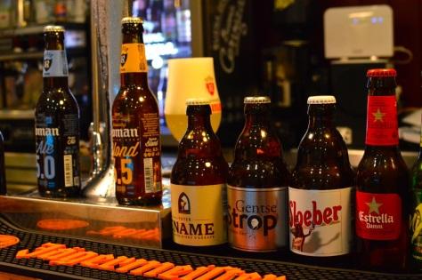 Variedade de cervejas